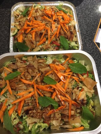 West Byfleet, UK: Some takeaway food from Judys grill