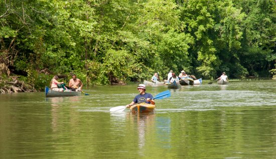 Lebanon, MO: Connect with nature on a 1/2 or full day float.