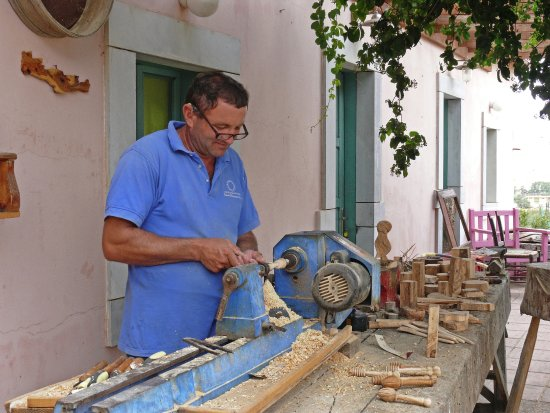 Malia, Grecia: Craft Centre