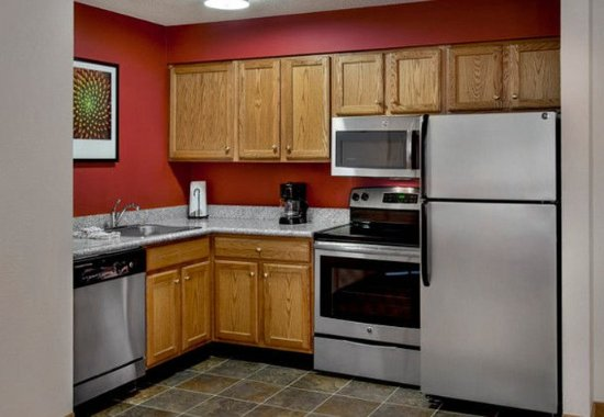 Andover, MA: Executive Studio & Two-Bedroom Suite Kitchen