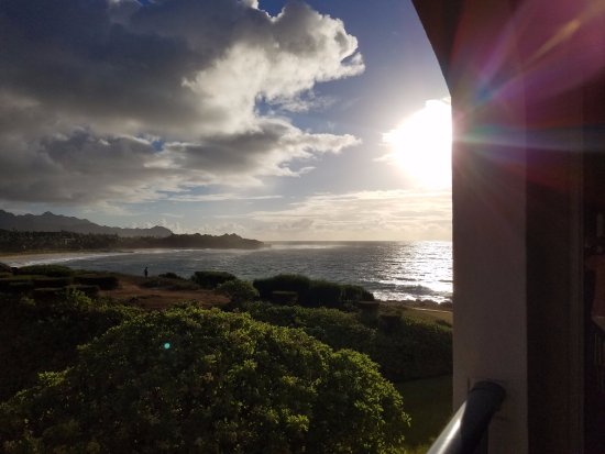 The Point at Poipu: A view from our room, building 6, 3rd floor