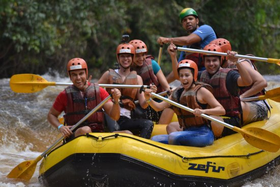 Brotas, SP: Rafting