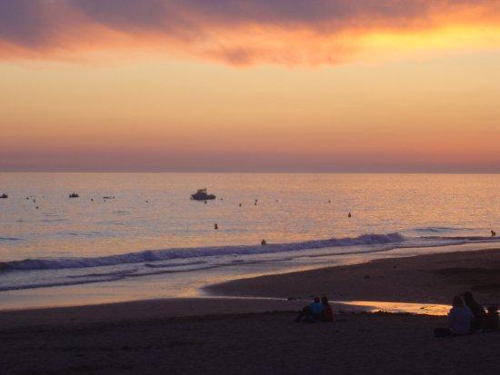 Bretignolles Sur Mer, France: Plage en soirée