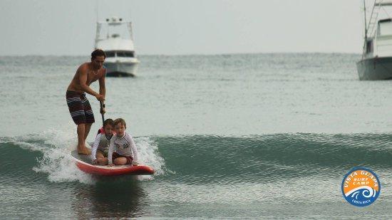 Vista Guapa Surf Camp: Clases de SUP para niños