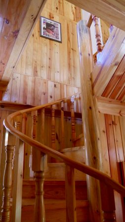 Nellies Chalet Sagada: Stairs To Attic