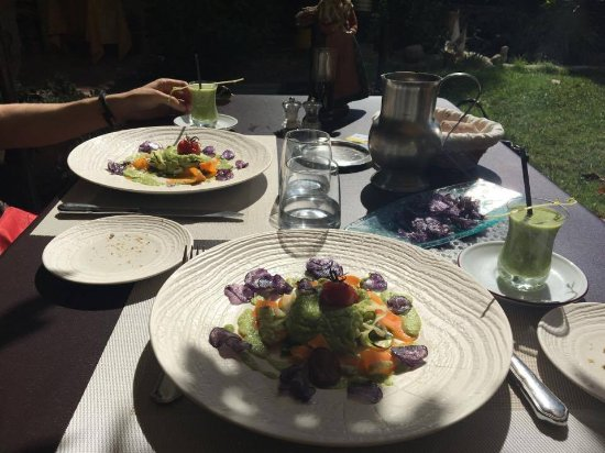 Violes, Frankrike: Great vegan dish