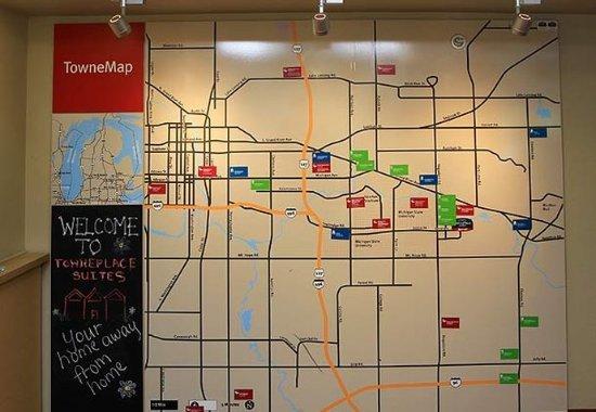 East Lansing, MI: TowneMap