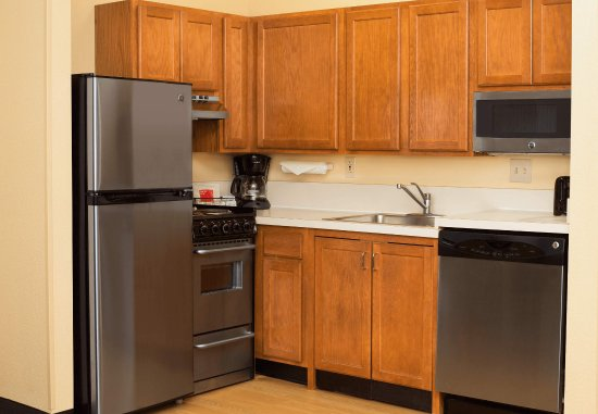 Lombard, إلينوي: Suite Kitchen