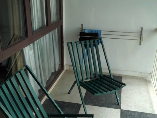 Hotel De Moc: Balkon