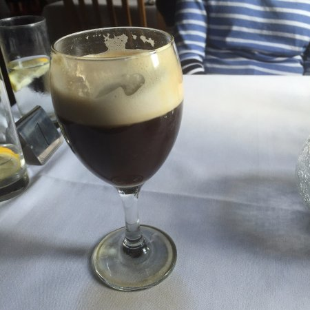 Longburton, UK: Irish coffee