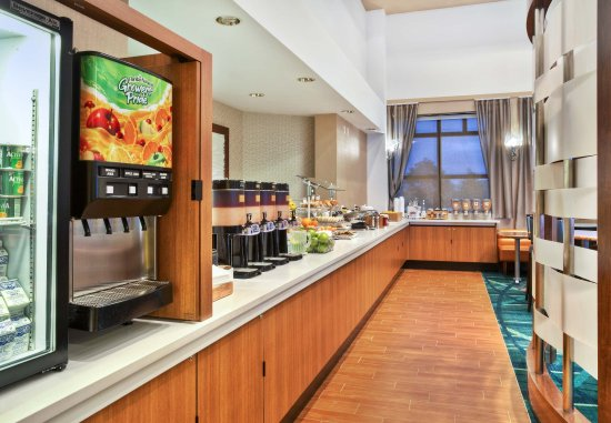 Burr Ridge, إلينوي: Breakfast Buffet