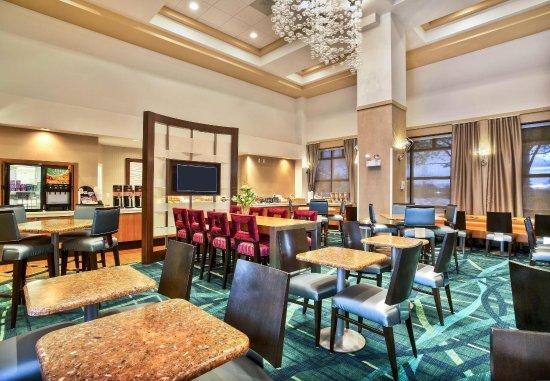 Burr Ridge, إلينوي: Breakfast Seating Area
