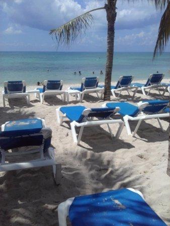 Allegro Cozumel: club de playa..lo mas rescatable de este hotel.