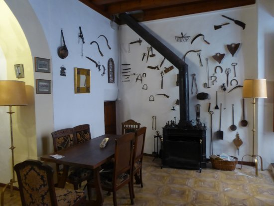 Fornalutx, Espagne : Dinning Room