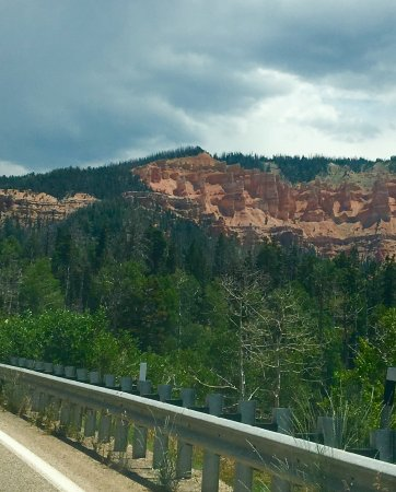 Dixie National Forest: Just along the road on Highway. Typical scenery. You must make this drive!