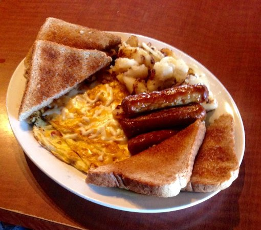 Miramichi, Canada: Breakfast served all day Saturday & Sunday