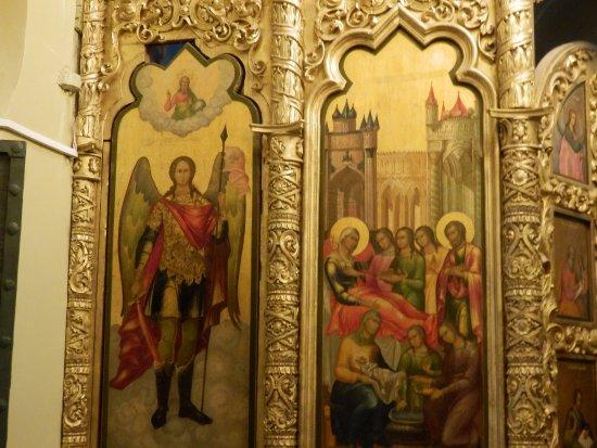 Basilius-Kathedrale: Retablo de una capilla de San Basilio.