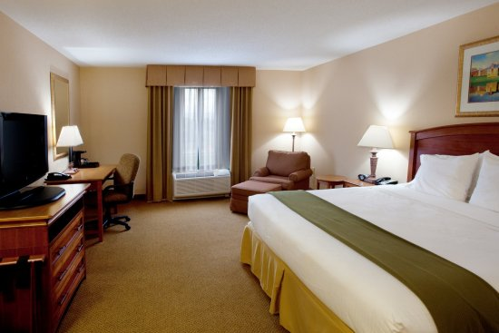 Holiday Inn Express & Suites Florence I-95 & I-20 Civic Ctr: King Bed Guest Room