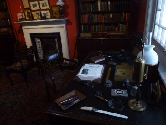 Dorchester, UK: Thomas Hardy's Study .