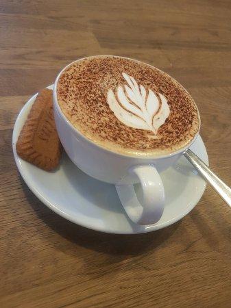Castleton, UK: Cappuccino