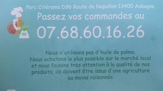 Aubagne, Frankrike: Pour les commandes...