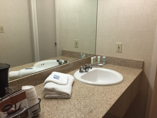 Rock Springs, WY: Sink area outside the actual bathroom