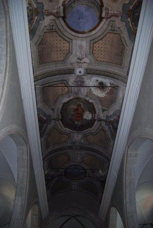 Chiesa di San Lorenzo: Detalle techo