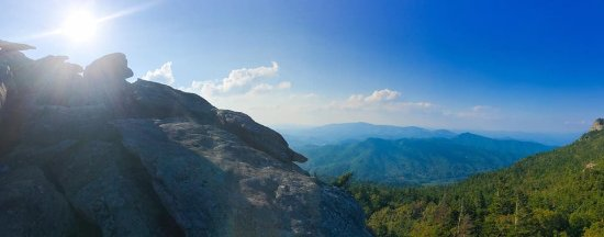 Grandfather Mountain: Gorgeous views.
