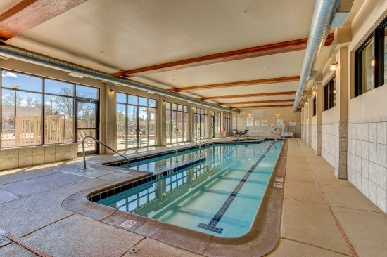 Montrose, CO: Indoor Salt water pool with 60 foot lap lane