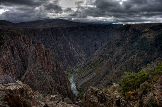 Montrose, CO : Black Canyon of the Gunnison National Park