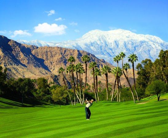 Omni Rancho Las Palmas Resort & Spa : Golfer