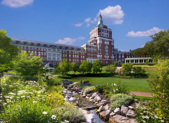 Hot Springs, VA: The Omni Homestead Resort