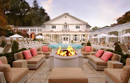 Hot Springs, VA: Spa Garden