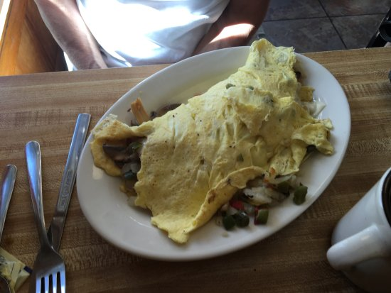 Rosie's Country Cafe: Egg beaters omelet