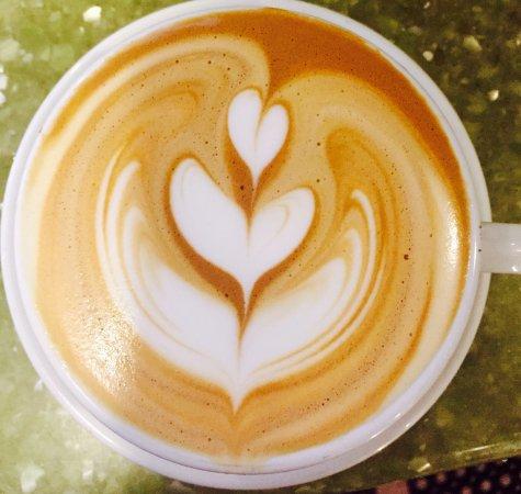 Niwot, Колорадо: Latte Art