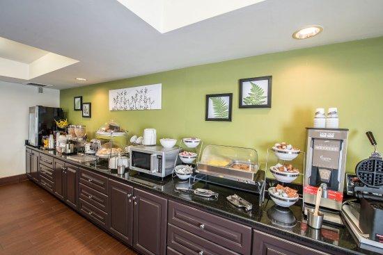 Princeton, Virginia Barat: Breakfast