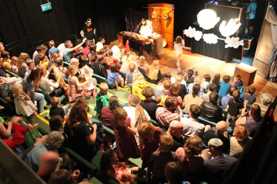 Rossendale, UK: The theatre space in the Boo