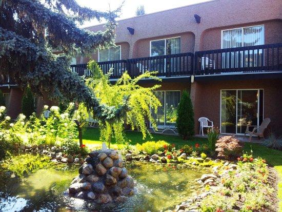 Vernon, Canada: Courtyard