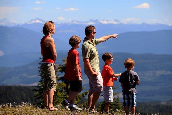 Vernon, Canadá: Hiking at Silverstar Mountain Resort