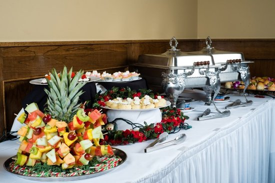 Vernon, Canada: Catering Food Display