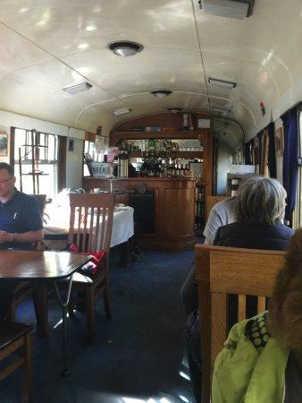 Aviemore, UK: The snack car