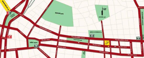Louren Hotel: Map