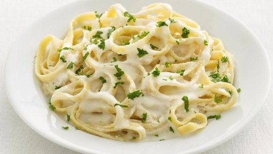 Seal Beach, Californie : Fettuccine Quarto Fromaggi