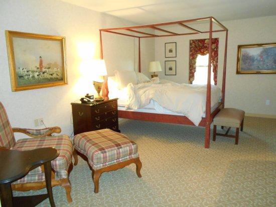 Lahaska, Пенсильвания: I loved my comfortable bed.