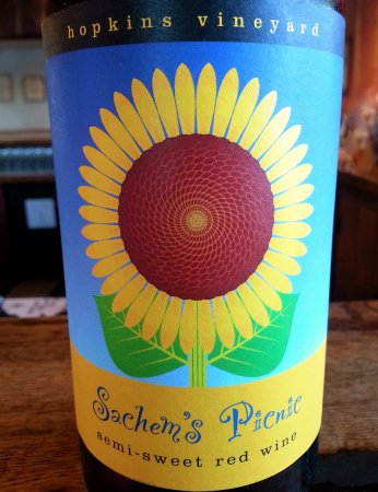 New Preston, CT: One of their wines.