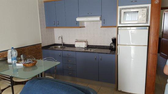 Apartamentos Isla de Lobos : kitchen