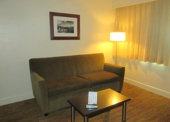 BEST WESTERN Pony Soldier Inn & Suites: Comforable Couch, BW Pony Soldier, Flagstaff, AZ