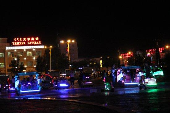 Erenhot, China: Аттракционы