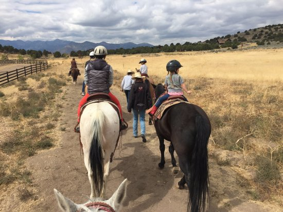 Heber City, UT: Riding side by side