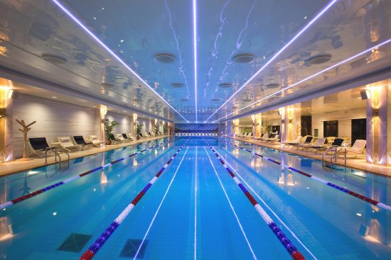 Radisson Royal Hotel Moscow: Olympic Pool at Royal Wellness Club